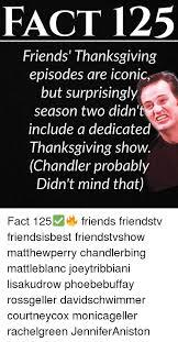 25 best memes about friends thanksgiving episodes friends
