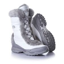 the north face women u0027s nuptse fur iii boots white paisley free