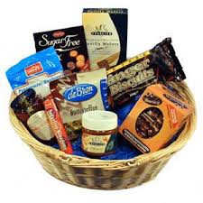 diabetic gifts cookie baskets hers and gift baskets