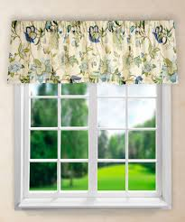 amazon com ellis curtain brissac tailored valance 70 x 15