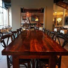 Restaurant Kitchen Table by Artisan U0027s Table Flavor Is Our Guide
