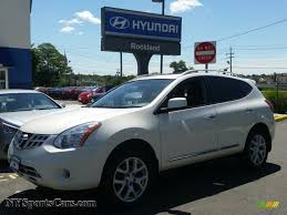 white nissan 2012 2012 nissan rogue sl awd in pearl white 417310 nysportscars