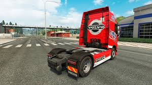 volvo heavy vehicles haulage skin for volvo truck for euro truck simulator 2