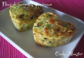 cuisiner de la courgette flans de courgettes et poireaux cooky