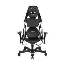 Lumisource Game Chair Crank Series Charlie Black White Gaming Chair Clutch Chairz Europe