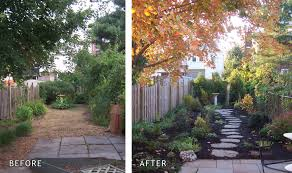 staging before after garden home staging make over