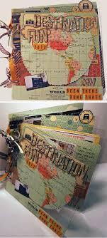 travel photo albums 58 best travel mini album ii images on travel journals