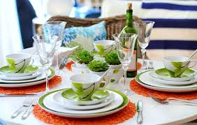 how many place settings modern table setting ideas freshome
