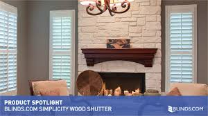 blinds com simplicity wood shutter product spotlight u0026raquo