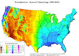 us climate map prism climate chemical biological and environmental