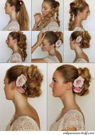 hair tutorials for medium hair 50 easy prom hairstyles updos ideas step by step