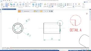 how to produce an engineering drawing add dimensions and fill