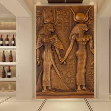 online shop custom modern art wall painting for living room 3d online shop custom modern art wall painting for living room 3d ancient egyptian pharaoh entrance corridor mural wallpaper papel de parede 3d aliexpress