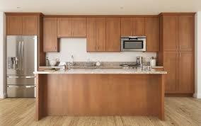 Assemble Kitchen Cabinets Tempting More Views Pecan Shaker Ready To Assemble Kitchen Cabinets