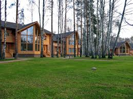 Luxury Log Home Plans Artichouse Hunting Lodge Russia