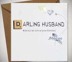 card for husband happy birthday husband contemporary finished