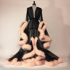 dressing gown boudoir by d lish extravagant black dressing