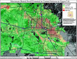 Map Of Tempe Arizona by Study Of Expansive Soils And Residential Foundations On Expansive