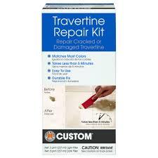 Laminate Floor Filler Repair Custom Building Products Travertine Repair Kit Travrk The Home Depot