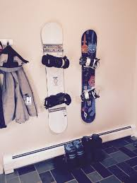Backpack Hooks For Home by Snowboard Wall Mount Hang Time Storeyourboard Com
