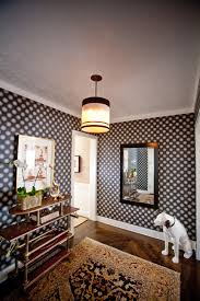 Wood Floor In Powder Room - inspired anaglypta in hall eclectic with hallway decorating next