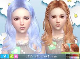 sims 4 kids hair my sims 4 blog newsea within a dream hair for kids