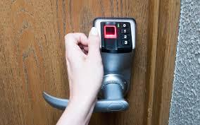 biometric doors u0026 front doors biometric fingerprint door lock