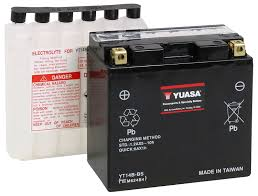 amazon com yuasa yuam624b4 yt14b bs battery automotive