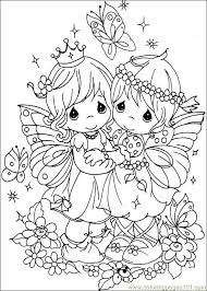 42 precious moments coloring pages precious moments fairies