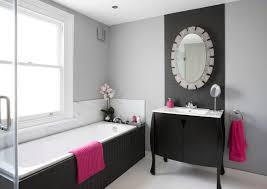 bathroom picture frame on the charming light purple wall comfy