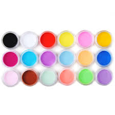 online get cheap colored nail acrylic powder aliexpress com
