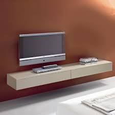 Altus Plus Floating Tv Stand Simple White Stained Wooden Wall Mounted Tv Cabinet Also Brown