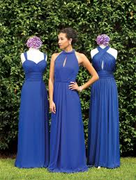 cobalt blue bridesmaid dresses designers of the week bridesmaids dresses to fit and flatter