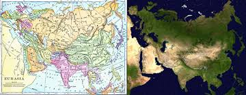 Eurasia Map Eurasia The State Of The Century