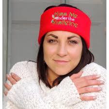 mistletoe headband me the mistletoe mamasews