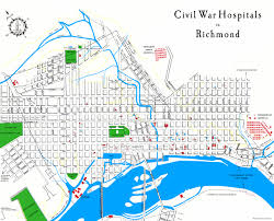 Richmond Virginia Map by Hospitals Map