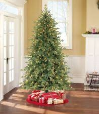 holiday time pre lit 7 5 u0027 linden fir artificial christmas tree led