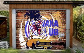 3d bricks wall graffiti car 73 garage door mural aj wallpaper 3d bricks wall graffiti car 73 garage door mural