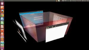 ubuntu 12 04 how to set up transparent rotating desktop cube and
