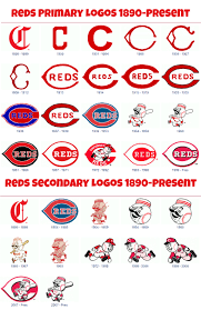 different reds reds fact of the day the reds sported many different logos