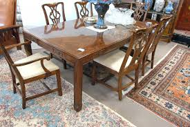 Drexel Heritage Dining Room Set Dining Table Best Galley Of Drexel Heritage Dining Table And 6