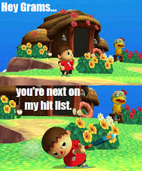 Animal Crossing Villager Meme - ssb3ds animal crossing meme by 17chrisjenkins on deviantart