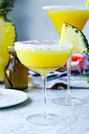 martinis pineapple u0026 vanilla bean martinis