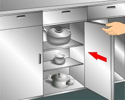 3 ways to clean kitchen cabinets u2013 wikihow with regard to