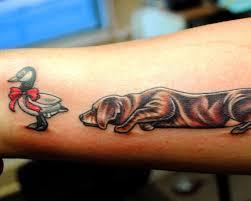 tattoona 25 fantastic hunting tattoos creativefan