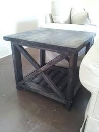 ana white rustic x coffee table and end tables diy projects
