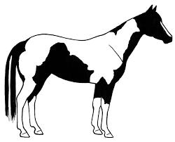 mustang horse silhouette horses clip art 3 clipartandscrap
