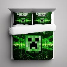 Minecraft Comforter Set Call Of Duty Bedding Vnproweb Decoration