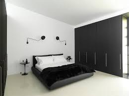 chambre noir et blanche chambre blanche aux accents 50 idées de style minimaliste