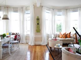 window polished wooden flooring design ideas with white curtain awesome bay window to create your beautiful room design polished wooden flooring design ideas with
